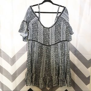 Torrid cold shoulder dress